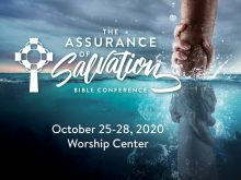 Church-wide Bible Conference – October 25-28